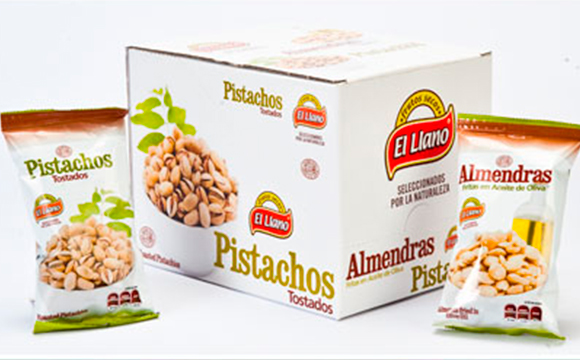Frutos secos en formato individual, snack saludable